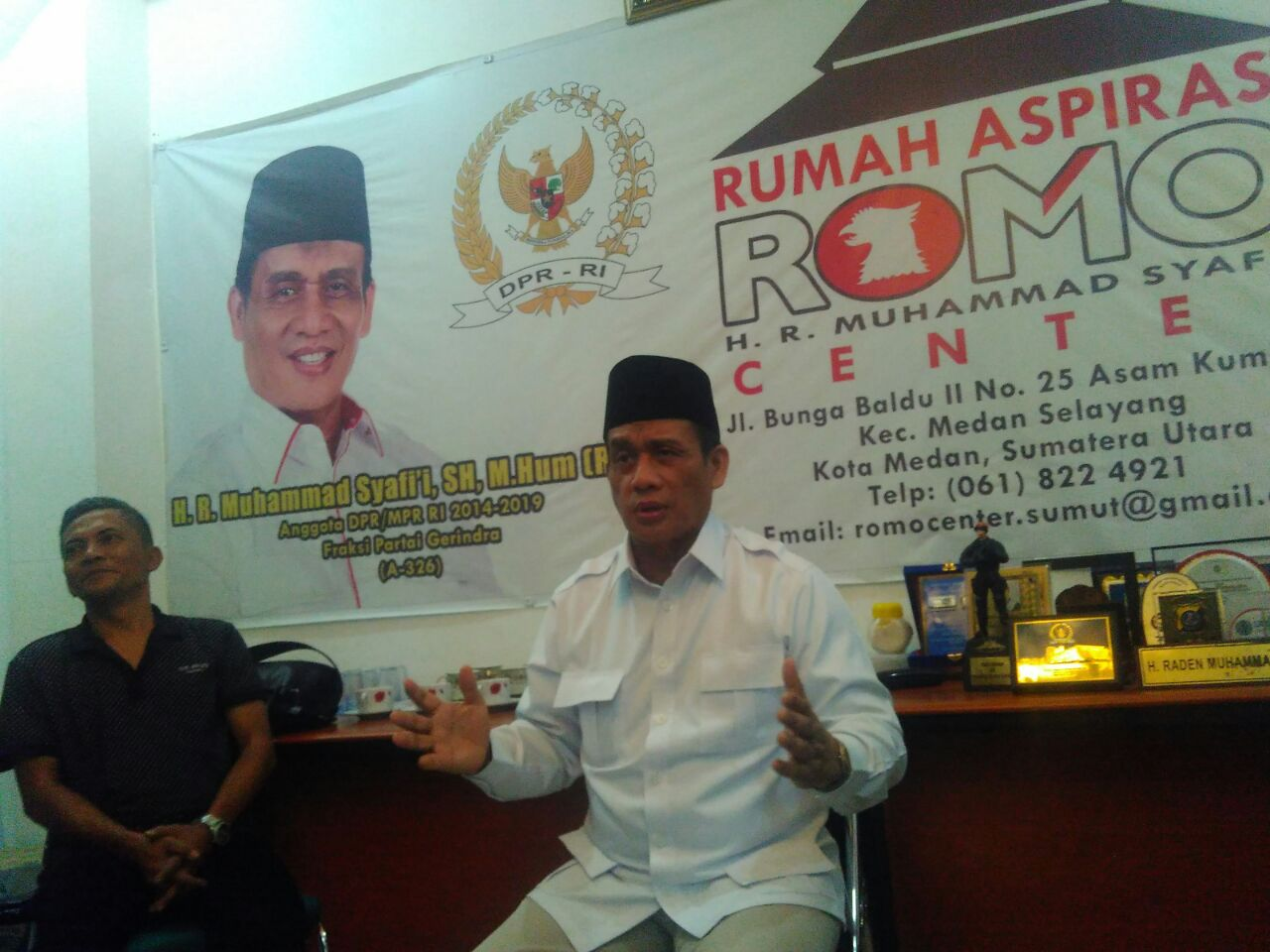 Raden Muhammad Syafii (Romo)
