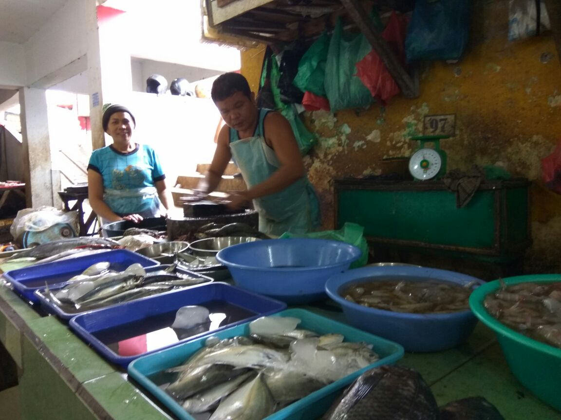 Penjual Ikan Pasar Sukaramai
