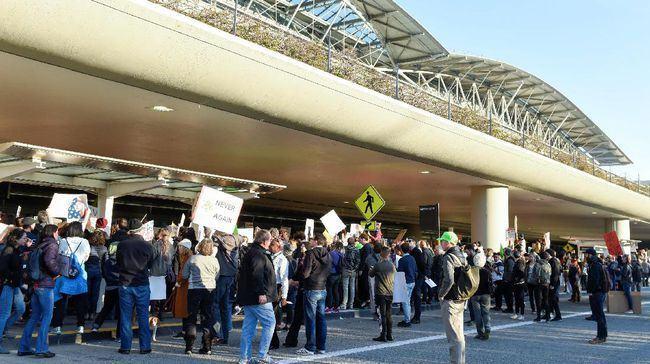 Reuters/Aksi Mogok Kerja Sopir Taksi New York