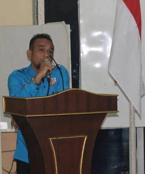 Ketua DPK KNPI Medan Helvetia M Roufik Sitepu SE