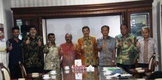 Gubsu Terima Audiensi Parisada Hindu Dharma Indonesia (PHDI) Sumut