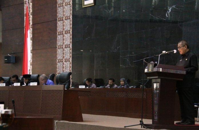 Rapat Dengar Nota Jawaban Gubernur Sumut