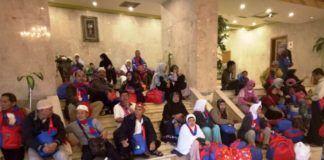 KUHI KJRI/emaah umrah Indonesia di Jeddah menunggu kepastian kepulangan mereka ke Tanah Air