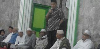 Alfi Syahri, Ketua MP ICMI Muda Tebing Tinggi (berdiri)