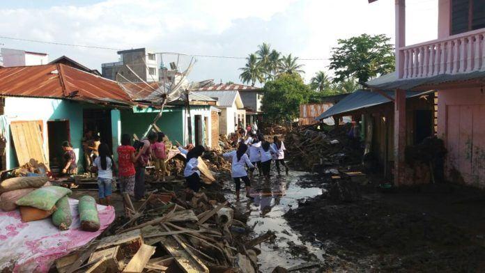 Masyarakat Pribumi Indonesia galang dana untuk Banjir Bandang Sidempuan
