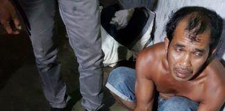 Intel Kodim 0208/Asahan menangkap bandar narkoba di kecamatan sei suka. batubara
