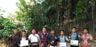 Penggalangan Dana ini dilakukan di sekitaran kampus universitas negeri medan (UNIMED)