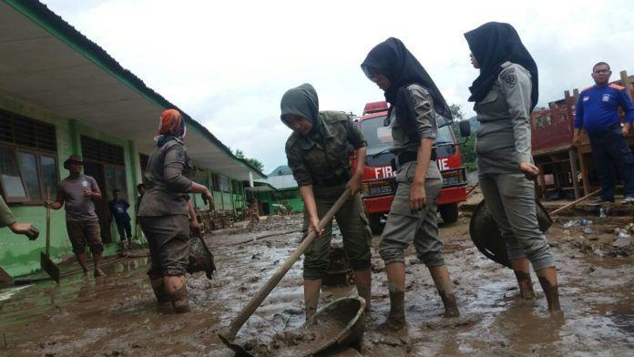 Banjir Bandang di Padang Sidempuan
