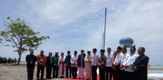 Presiden Jokowi Meresmikan Titik Nol Kilometer di Barus