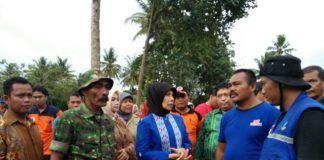 Wagub Sumut Nurhajizah Marpaung Sambagi Banjir Bandang Sidempua