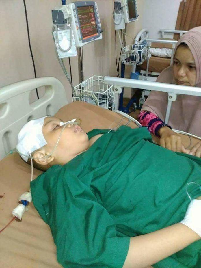 Badila Penderita Virus Otak Medan