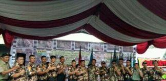 Kharuddin Syah Lantik FKPPI PC 0216 di Bumi 'Sapangambei Manoktok Hitei'
