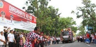 [Foto] Kemeriahan Karnaval Hari Jadi Provinsi Sumut Ke-69 (6)