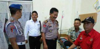 Minum Dipakter Tuak, Polisi Arogan Bogem Pengunjung
