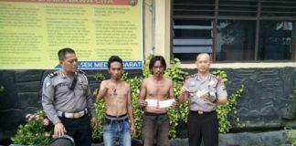 Modus Minta Uang Parkir, Dua Preman Kampung Diciduk Polisi