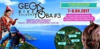 Penggiat Geopark Gelar Geobike Kaldera Toba #3