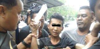 Polisi Dor Pelaku Pembunuhan Sekeluarga di Mabar