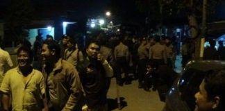 Polisi Seser Rumah Warga, Empat Terduga Pelaku Pembacokan Ditangkap, Belasan Sajam Disita