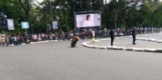 Road Race HUT Siantar Sisakan Masalah