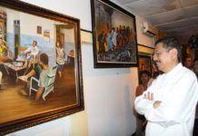 Tengku Erry Beli Lukisan