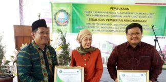 Bupati Labura dan Rektor UIN Medan