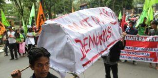 Demo Hardiknas Medan