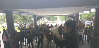 Demo Mahasiswa USU Rektorat USU akan Bantu