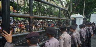 Demo Solidaritas Mahasiswa Medan