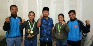 KNPI Sumut, Dua Atlet Karate Putri Lemkari Menangkan Kejuaraan Internasional