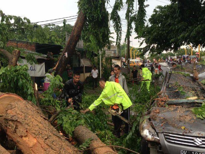 Hujan Deras di Medan