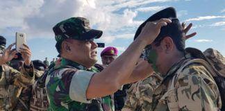 Latihan Militer di Natuna Erry