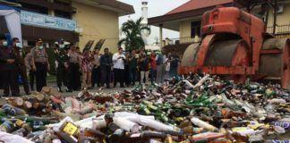 Operasi Pekat 2017 Polrestabes Medan