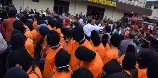 Operasi Pekat 2017, Polrestabes Medan
