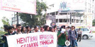 Penangkapan Mahasiswa Medan, Mahasiswa UMSU