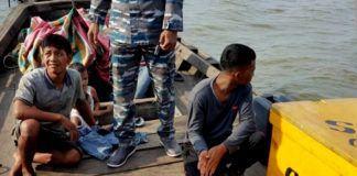 TKI Ilegal Ditangkap di Perairan Asahan