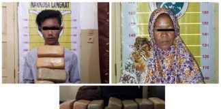 Kasus Narkoba Langkat, Polisi Gagalkan Penyelundupan 54 Kg Ganja dalam Sehari