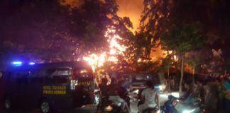 Kebakaran Asrama Polantas Asahan