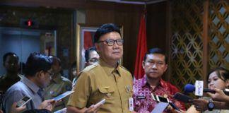 Foto: Menteri Dalam Negeri Tjahjo Kumolo.