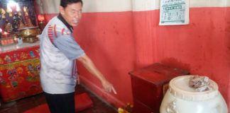 Pencurian di Asahan Kotak Amal Vihara