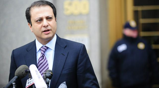 Foto: Mantan Jaksa Federal AS, Preet Bharara (AFP)