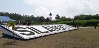 Foto: Bandara Silangit, Tapanuli Utara, Sumatera Utara.