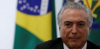 Foto: Presiden Brasil Michel Temer.
