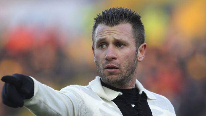 Striker veteran Antonio Cassano