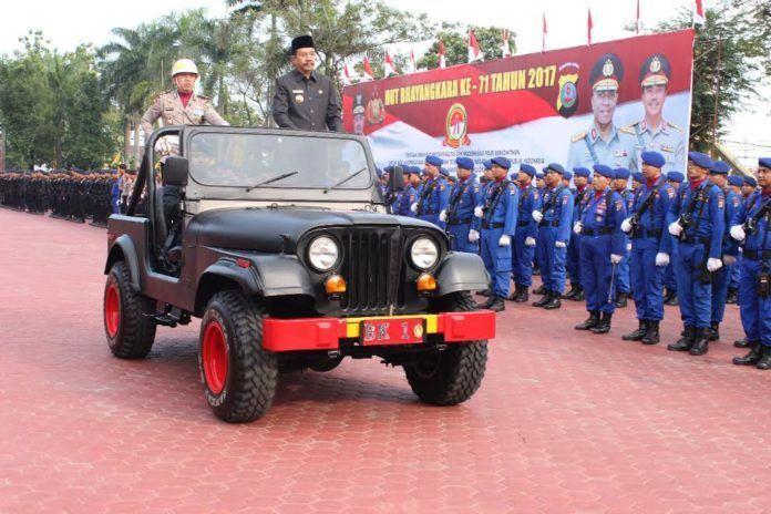 HUT Bhayangkara ke-71 Tengku Erry