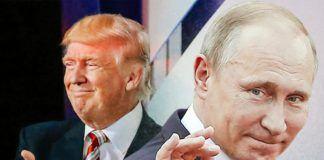 Foto: Donald Trump dan Presiden Putin (Pool AFP/Slate.com)