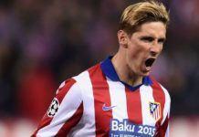 Foto: Striker Atletico Madrid Fernando Torres.