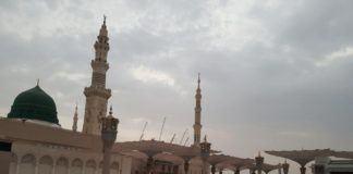 Foto: Jemaah haji Indonesia mulai ramaikan Masjid Nabawi.