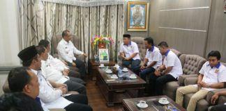 Foto: Wakil Walikota Medan Ir Akhyar Nasution terima audiensi dari ICMI Muda Kota Medan di Kantor Walikota Medan, Rabu (19/7).