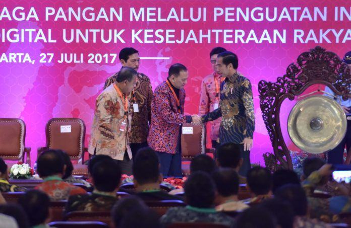 Image result for Jokowi di Hotel Grand Sahid Jaya
