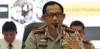 Foto: Kapolri Jenderal Tito Karnavian..